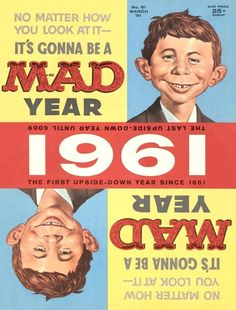 MAD #61 cover, March 1961 Artist: Norman Mingo
