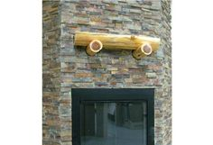 Fireplace Ledgestone/Stacked Stone Slate - traditional - floor tiles - minneapolis - by Clint Balfanz Stacked Rock Fireplace, Slate Fireplace, Rock Fireplaces, Fireplace Remodel, Fireplace Mantels, Fireplace Ideas, Mantle, Small Tiles, Slate Flooring