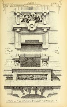 See More Neoclassical Design,Column Design Ideas,Column Details,Wrought iron railing fence,Decorative wrought iron gate,Wrought iron (https://www.cadblocksdownload.com)