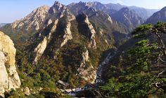 Beautiful #panorama of #Seoraksan #NationalPark in #SouthKorea #travel #asia #hike