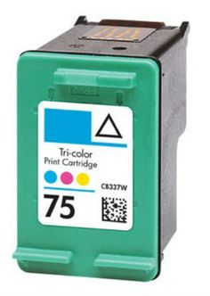 Buy #75 (CB337W) Color Ink Cartridge for HP at Houseoftoners.com. We offer to save 30-70% on ink and toner cartridges. 100% Satisfaction Guarantee.