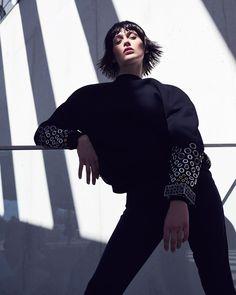 Schön Magazine December 2016 Justine Guneau by Andreas Ortner - Fashion Editorials
