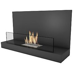 Buy Imaginfires Alden Bioethanol Fireplace, Midnight Black from our Fireplace Accessories range at John Lewis & Partners. Bioethanol Fireplace, Modern Fireplace, Living Room With Fireplace, Fireplaces, Living Rooms, Living Spaces, Fireplace Accessories, Humble Abode, Master Suite