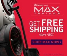 Bowflex Max Trainers | Best 14 Minute Workout Machines