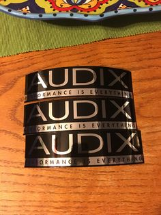 udix Professional Drum microphones have been serving the world's professional and enthusiastic drummers for over 20 years. These stickers come with each purchase, I sent an email asking for s…