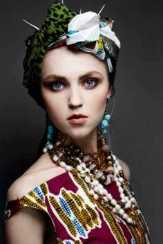 Lookbook Stella Jean 2013 par Settimio Benedusi | Pagnifik