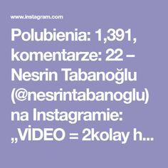 """Polubienia: 1,391, komentarze: 22 – Nesrin Tabanoğlu (@nesrintabanoglu) na Instagramie: """"VİDEO = 2kolay hasır örgü modeli #örgümodeli #örgü #örgüvideosu"""""""