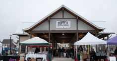Saturday is a market day at Coppell Farmers Market in Coppell, Texas 8am - noon http://www.farmersmarketonline.com/fm/CoppellFarmersMarket.html