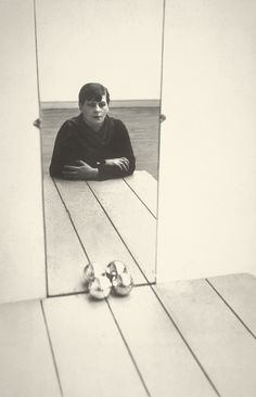 Autoportrait, 1928, Florence Henri http://www.jeudepaume.org/index.php?page=article