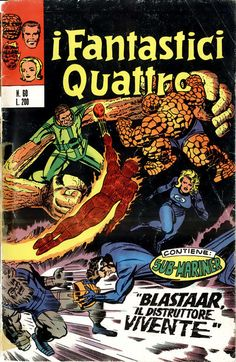 Cover for I Fantastici Quattro (Editoriale Corno, 1971 series) #60