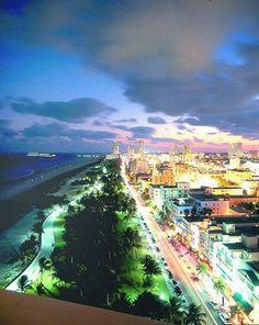 Miami's South Beach, Florida