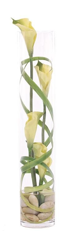 Natural+Decorations,+Inc.+-+Lily+Calla+Grass+Green+Glass+Cylinder