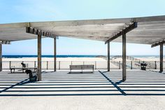 A tale of two city beaches: New York's Coney Island and Rockaway Beach