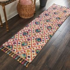 Nourison Moroccan Casbah Plush Bohemian Ivory/Pink Shag Area Rug Runner x Moroccan Decor Living Room, Moroccan Bedroom, Creative Kids Rooms, Old Wooden Crates, Rustic Bedroom Design, Chula, Area Rug Runners, Pink Bedding, Rug Material