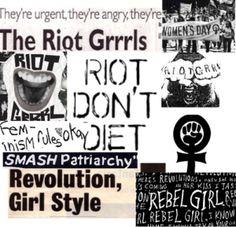 Riot grrrl zines