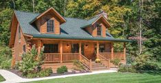 Whether you desire a rustic log cabin for vacationing or a beautiful log house to serve as a full-ti ...