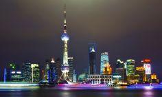 Shanghai by night!