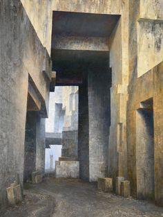Limestone Quarry, France