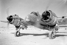 Bristol Beaufighter with Merlin engines.