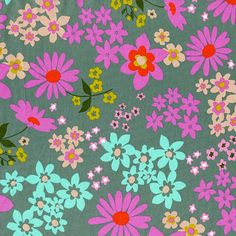 LAWN  Playful Collection  Melody Miller  by StashModernFabric
