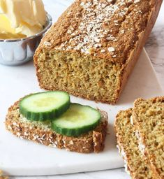 Food N, Food And Drink, Gluten Free Baking, Bread Baking, Tasty Dishes, Food Inspiration, Baking Recipes, Banana Bread, Yummy Food