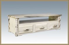 Montana Collection Sitting Chest/Entertainment Center