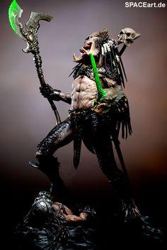 Predator: Bad Blood - Deluxe Statue, Fertig-Modell ... http://spaceart.de/produkte/pr026.php