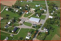 Aerial view of the New Brunswick Bible Institute Campus, showing Victoria Corner New Brunswick, Aerial View, Corner, Bible, Victoria, Biblia, The Bible