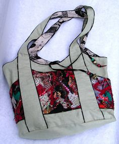 """Kayla's """"Kangaroo Bag"""" unique styling & lots of pockets.  #own it"""