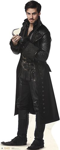 OMG.... No, no. That would be weird... Right?  Captain Hook - Once Upon a Time Lifesize Cardboard Cutout