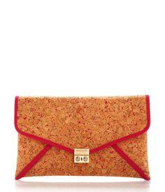 Miss Bendel Envelope Cork Clutch Henri Bendel, Envelope Clutch, Cork, Shoe Bag, My Love, Clutch Handbags, My Style, Crafts, Cuddle