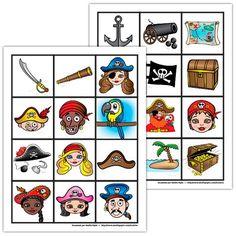 Jeu de mémoire, les pirates Plus Deco Pirate, Pirate Fairy, Pirate Theme, Pirate Preschool, Pirate Activities, Calico Jack, Boat Theme, Holiday Club, Magic Treehouse