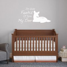 Quite Fawn'd Of You Wall Decals Home Décor Wall Decals