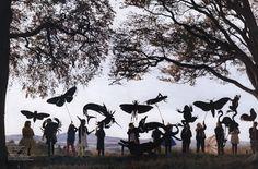 Butterflies in the sky (Tim Walker)
