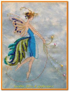 Rhythm Nora Corbett design. stitched by Diane