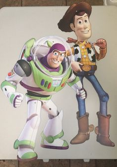 Boss lightyear and Woody Big Mobil Prop by ScozShop on Etsy