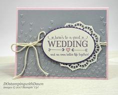 Brides & Babies Week: Better Together Wedding Card