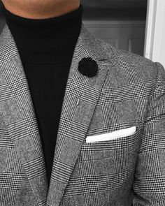 suit with turtleneck men * suit with turtleneck men - suit with turtleneck men prom - suit with turtleneck men mens fashion Blazer Fashion, Mens Fashion Suits, Mens Suits, Fashion Boots, Gentleman Mode, Gentleman Style, Stylish Men, Men Casual, Moda Formal