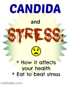 How stress affects candida (or any chronic condition)--and what to eat when stressed. #vegan #health | rickiheller.com