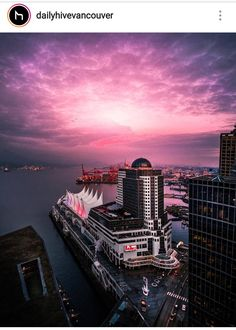 Vancouver, Opera House, Sunrise, Canada, Building, Travel, Viajes, Buildings, Destinations
