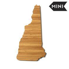 New Hampshire Shaped Miniature Cutting Board