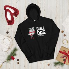 Bull Dog Street wear Unisex Hoodie Dirt Bike Clothing, Frog Costume, Blue Hoodie, Holiday Outfits, Shirt Shop, Street Wear, Atv Gear, Unisex