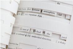 Figure 5. Image of Jonathan Safran Foer's Tree of Codes (2010) (via Visual Editions).