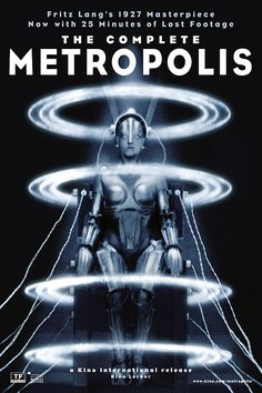 Metropolis 1927 Metrópolis es la obra maestra de ciencia ficción de Fritz Lang. En 2008 Fernando Martín Peña encontró una copia en el Museo del Cine Pablo Ducrós Hicken (Buenos Aires, Argentina) que incluía 26 minutos que se consideraban perdidos y que permitieron realizar un nuevo montaje mucho más cercano al original. ...
