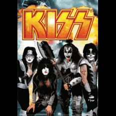 lenticular Wall Art of the rock group Kiss. Kiss World, 3d Poster, Posters, Neon Room, Kiss Pictures, Kiss Band, Hot Band, Rock Groups, The Rock