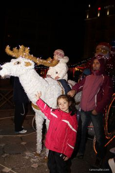 Day 180 - With Santa's reindeer :)