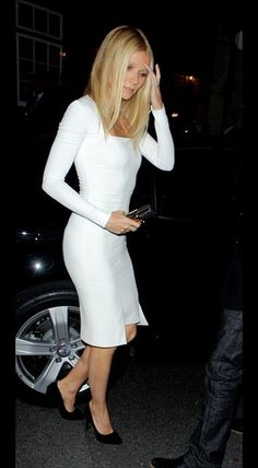 Nicole Scherzinger's Backless LWD - Celebs Heart the Little White Dress - StyleBistro