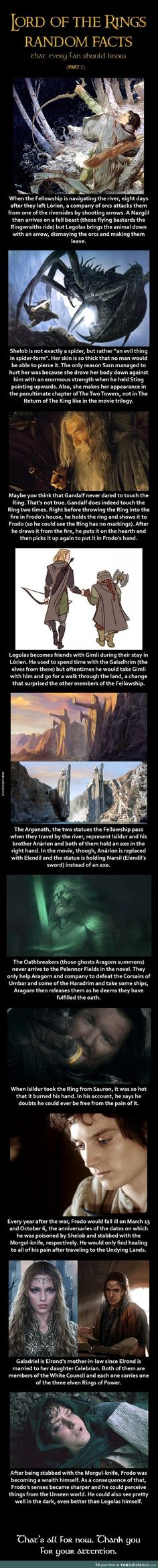 LOTR facts