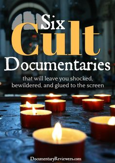 Looking for some of the best cult documentaries to fill your Netflix queue with? We've got your covered. These cult docs are all bone-chilling, jaw-dropping, disturbing, and fascinating. Get cozy, because you're weekend's about to get extra creepy! Scary Movies, Horror Movies, Good Movies, Cult Movies, Indie Movies, Funny Movies, Movie List, Movie Tv, Netflix Shows To Watch