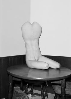 Hester is named after the New York street on which Asger Carlsen has his studio. Seven years ago, the Danish artist got to thinking about new ways to approach photography and, to boil it down, he has digitally merged a series of nude photographic studies with amorphous sculptural objects to create these extremely unusual hybrids. There are 21 of them in the collection, and the Copenhagen gallery is the first to admit that taking them all in can be a bit unsettling.